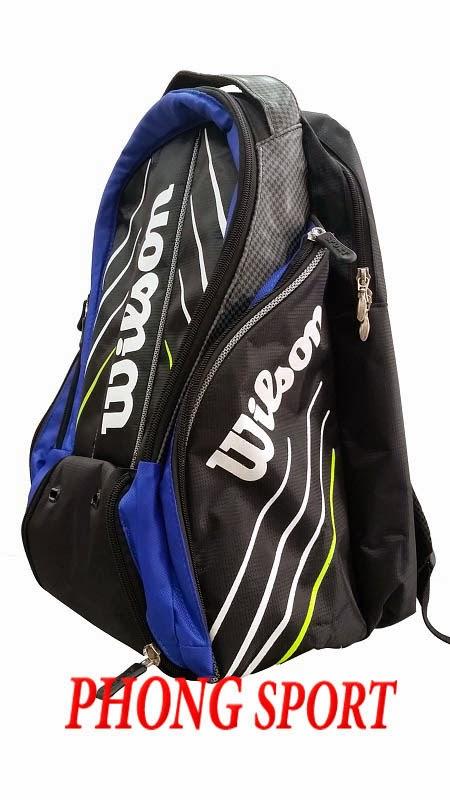 Balo đựng vợt Tennis Wilson (xanh)