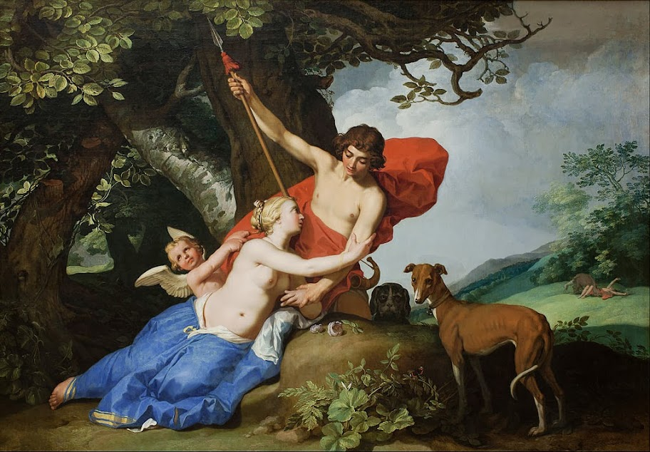 Abraham Bloemaert - Venus and Adonis - Google Art Project