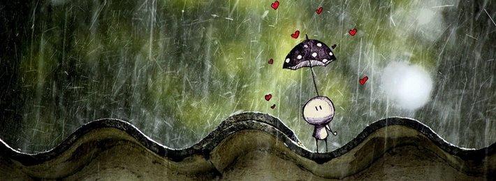 Thơ mưa buồn nhất