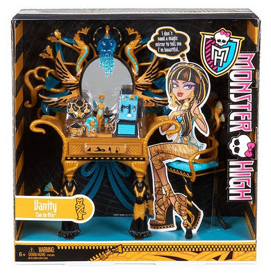 Monster High - Tocador de Belleza de Cleo de Nile
