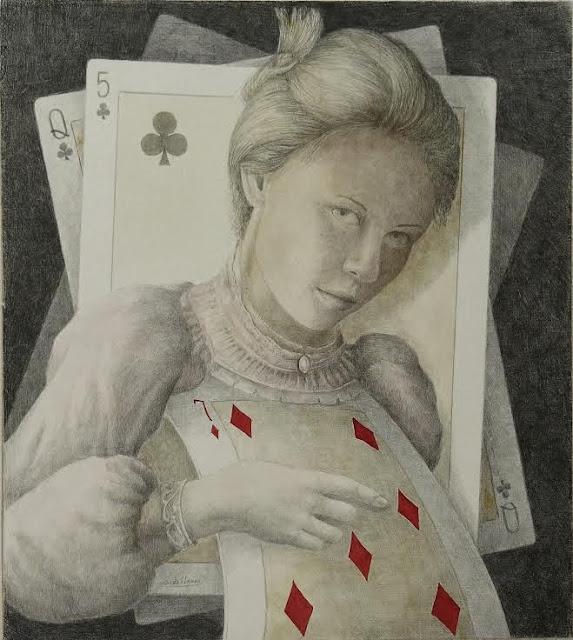 Poker,dibujo de Severino de Llanza