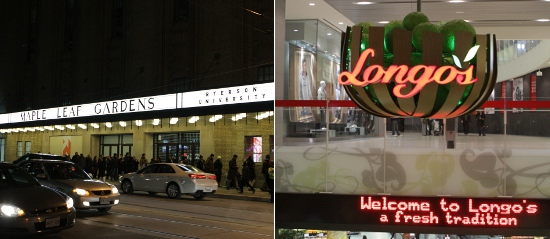 Loblaws vs. Longo's for hard to find ingredients.