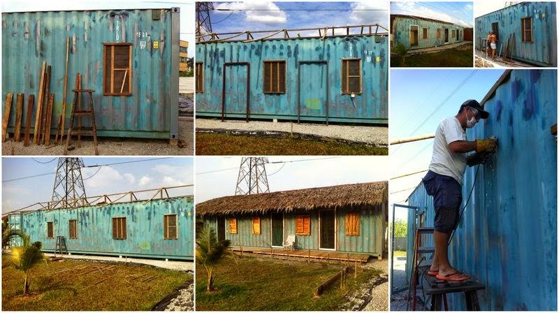 Construcción de los dormitorios en Go Green Gateway.