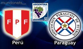 Peru Paraguay online vivo SUb20 Horarios 23Enero