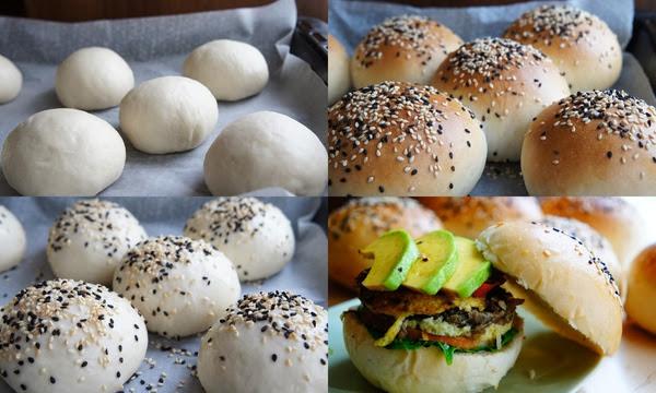 苦茶油漢堡麵包(Tea oil buns)