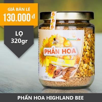 Phấn Hoa HIGHLAND BEE 320gr