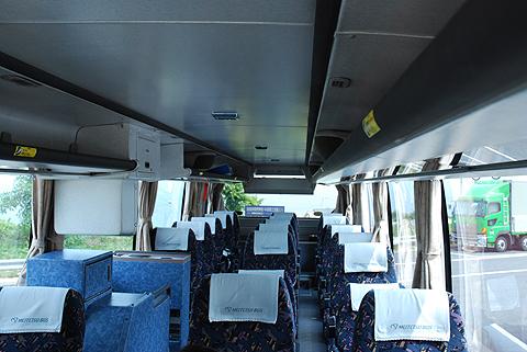 名鉄バス「さぬきエクスプレス名古屋号」 2701 車内