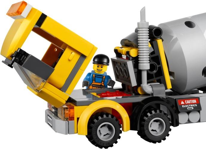 レゴ シティ コンクリートミキサー車 60018