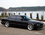 BMW M5 E34 Sofer de BMW care se crede in NFS