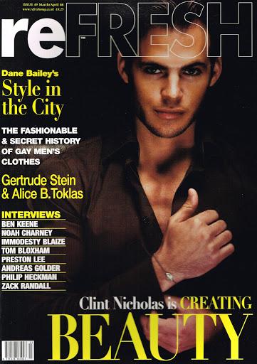 ReFRESH Magazine 49 3-4/2008 Clint Nicholas ZACK RANDALL