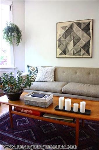 6 cách làm mới phòng khách ít tốn kém - <strong><em>Thi công trang trí nội thất</em></strong>-1