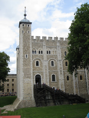 White Tower, Tower of London, from south