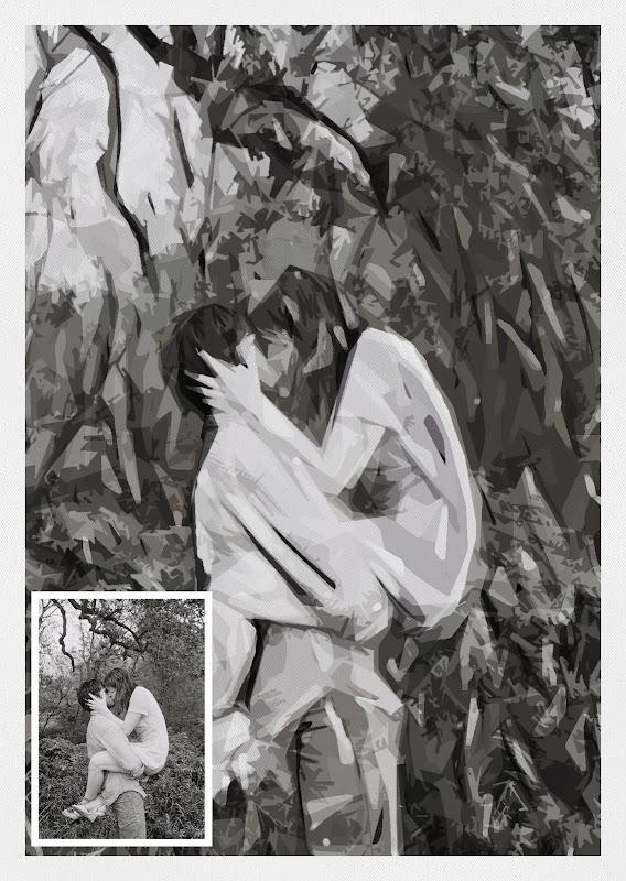 เทคนิคแปลงภาพถ่ายธรรมดาให้กลายเป็นงานศิลปะแบบ Impressionist Canvas Imc32