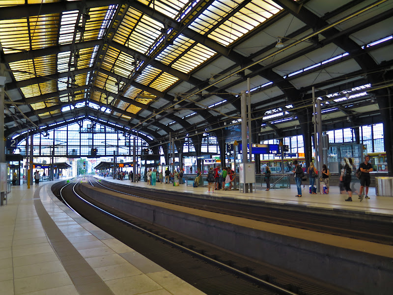 Innenansicht des Bahnhofs