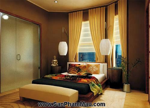 Phòng ngủ kiểu châu Á-10