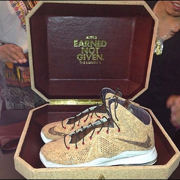 First Look at LeBron X Cork Special Packaging and its Price