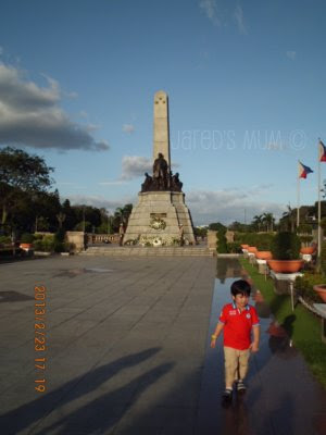 travel musings, Rizal Park
