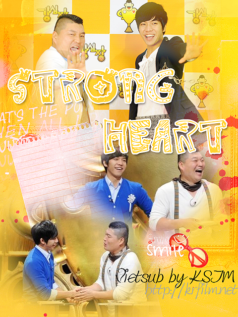 Poster Phim Strong Heart - Strong Heart