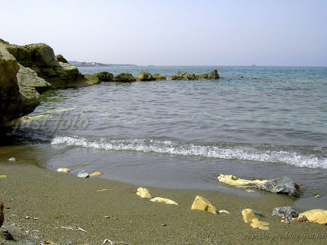 Крит море пляжи Херсониссос