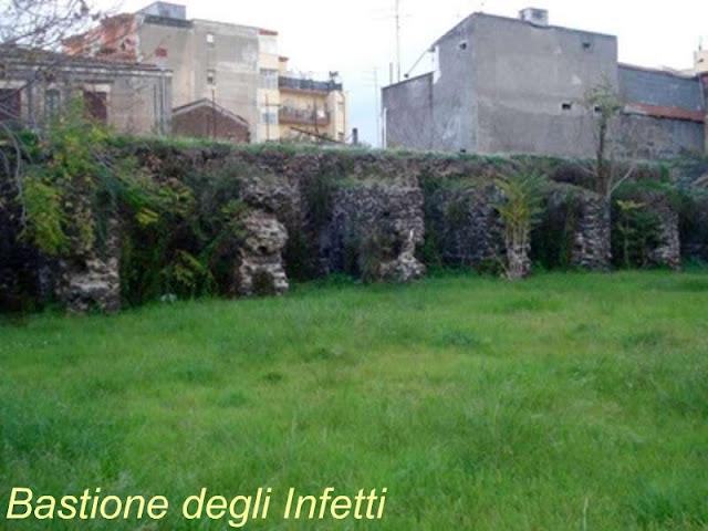 Catania, Bastione degli infetti
