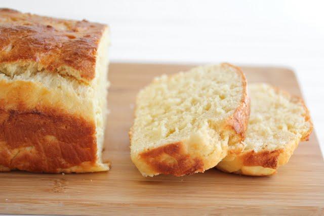 close-up photo of two slices of Brioche Bread