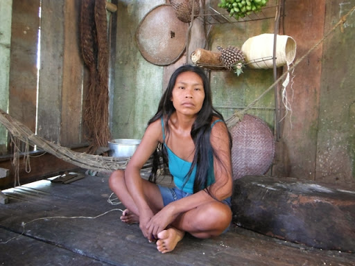 A young Witoto Murui woman.