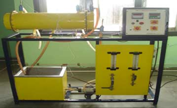 HEAT TRANSFER LAB (Shell & Tube Heat Exchanger)