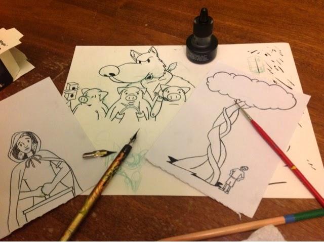 Hand Drawn Illustration - Ben J Hutchison