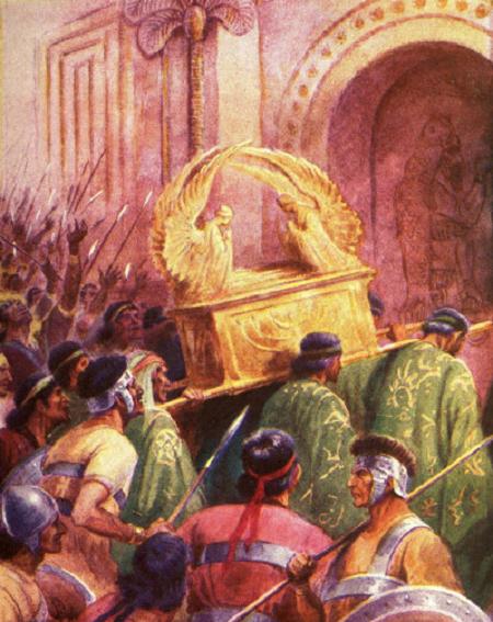 Ko darīt ar Israēla svēto derības šķirstu?