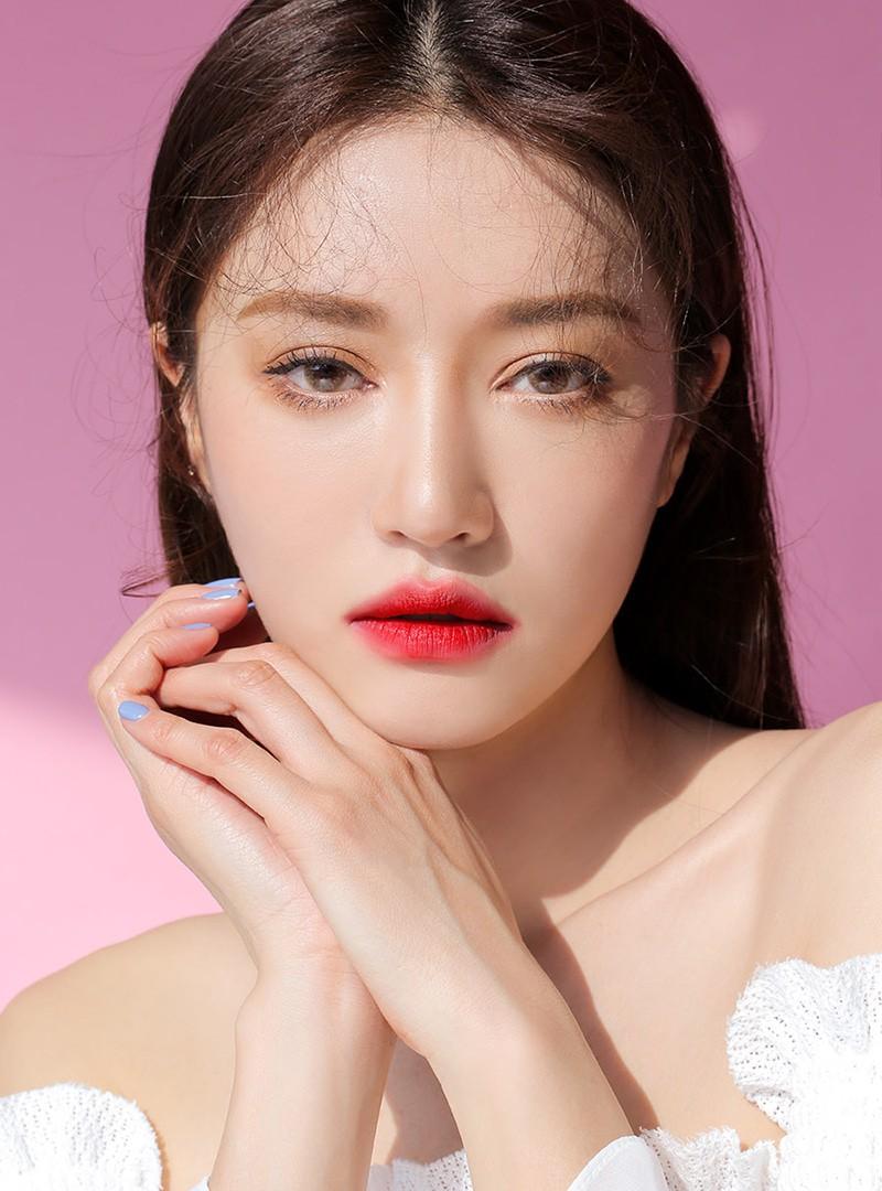 3CE Maison Kitsune Velvet Lip Tint Red Intense