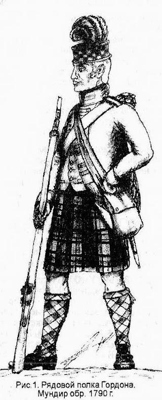 Шотландцы в бою