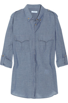 Equipment chambray shirt