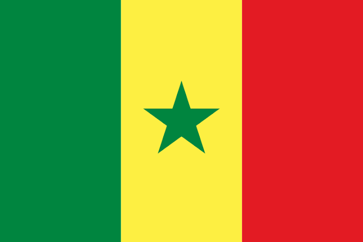 Senegal flag, Senegal