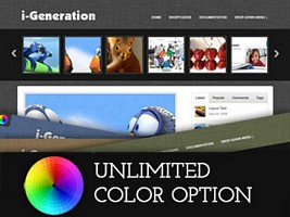 i-Generation WordPress Theme