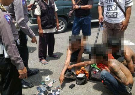 Berita foto Sinar Ngawi terkini terkait dua mahasiswa jadi korban penodongan
