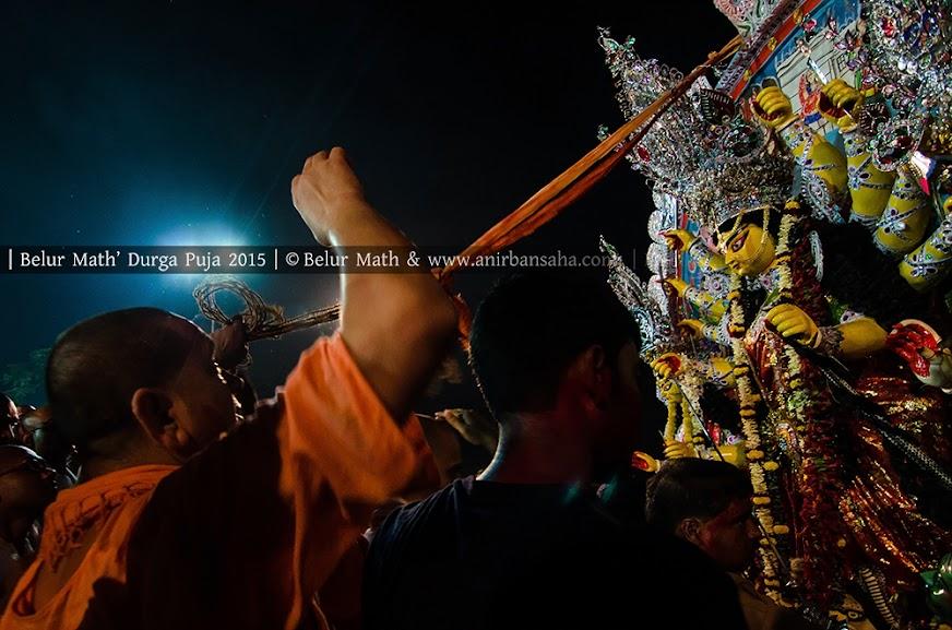 Belur Math Durga Puja