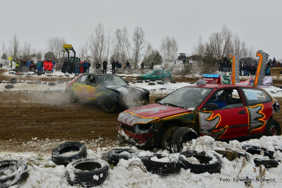 King Cup Winter Wrak Race  Kolno 2015