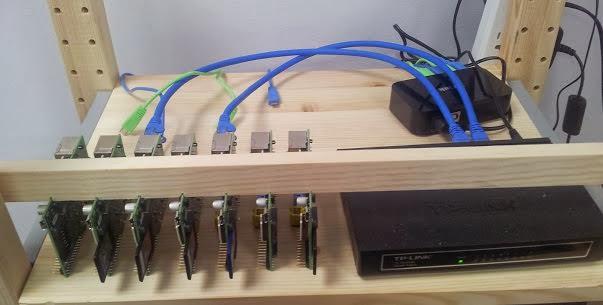 Los clusteres Raspberry Pi para la compilación de paquetes de Ubuntu comienza sus avances