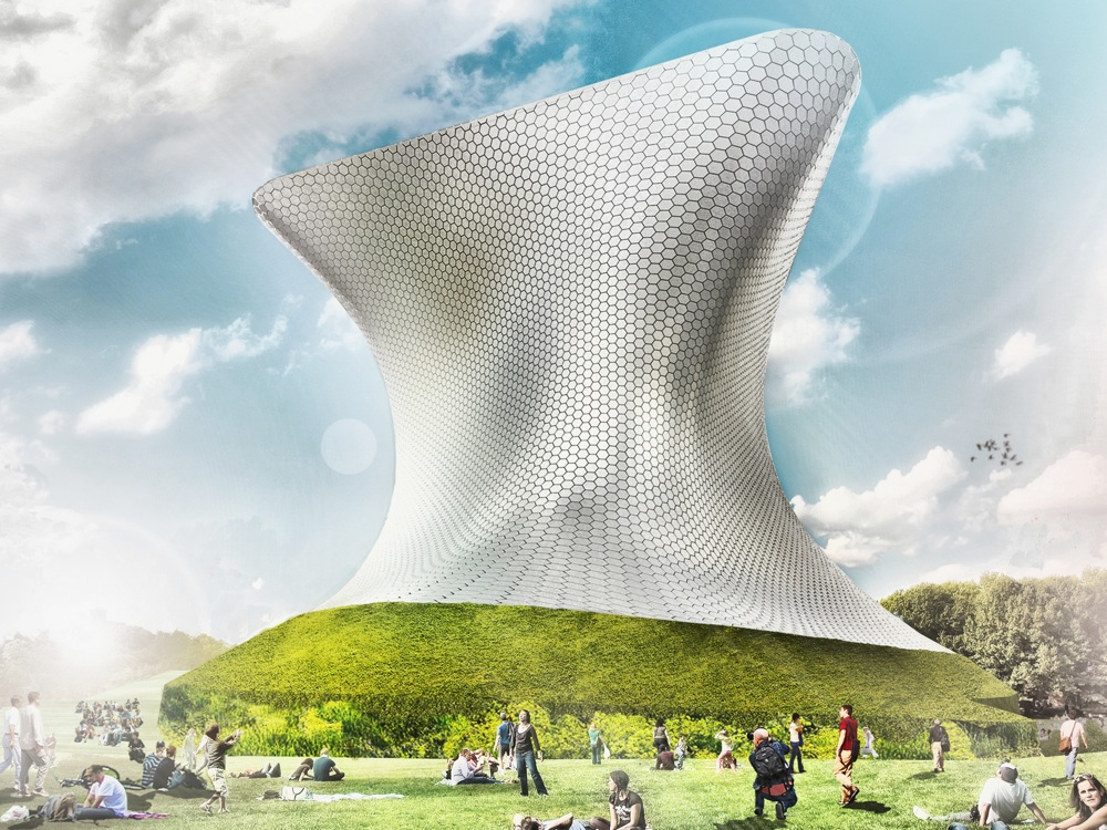 Soumaya Museum design by LAR