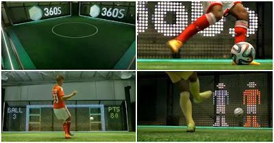 Benfica apresenta 360S, máquina de treino de futebol com tecnologia revolucionária