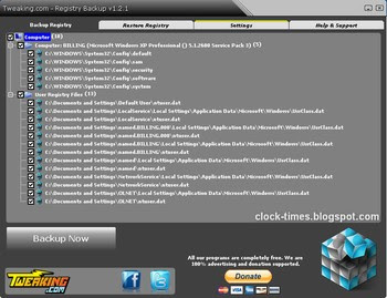 Registry-Backup