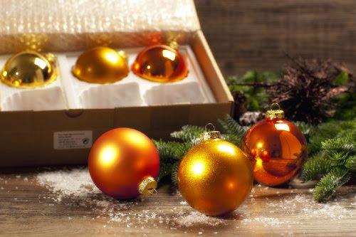 18x Christbaumkugeln Weihnachtskugeln Weihnachtsbaum Deko Kugel Schmuck violett