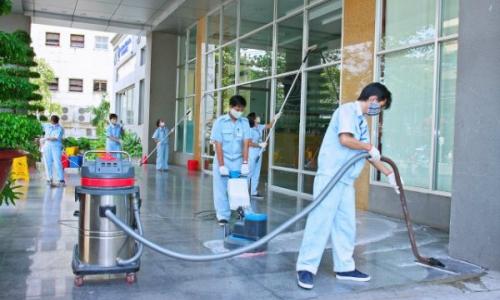 Đơn hàng vệ sinh tòa nhà cần 9 nam làm việc tại Hyougo Nhật Bản tháng 06/2017
