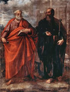 Resultado de imagen para santos pedro y pablo