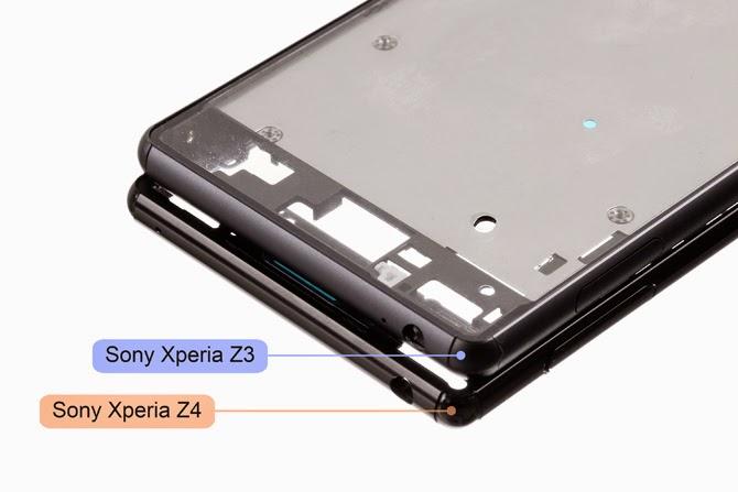 Sony Xperia Z4 có độ dày chỉ 6,3mm