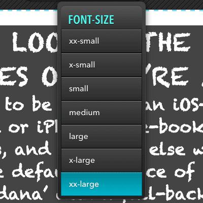 Typeface Tester Logo header screenshot · ontwerp van Atelier Bram de Haan