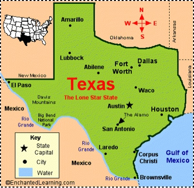 One Year And One Day Deep In The Heart Of Texas - Where is texas