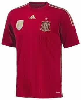 Jual Jersey Spanyol Home Piala Dunia 2014