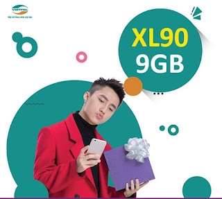 Cách Nhận Miễn phí 9GB Data Gói XL90 Viettel
