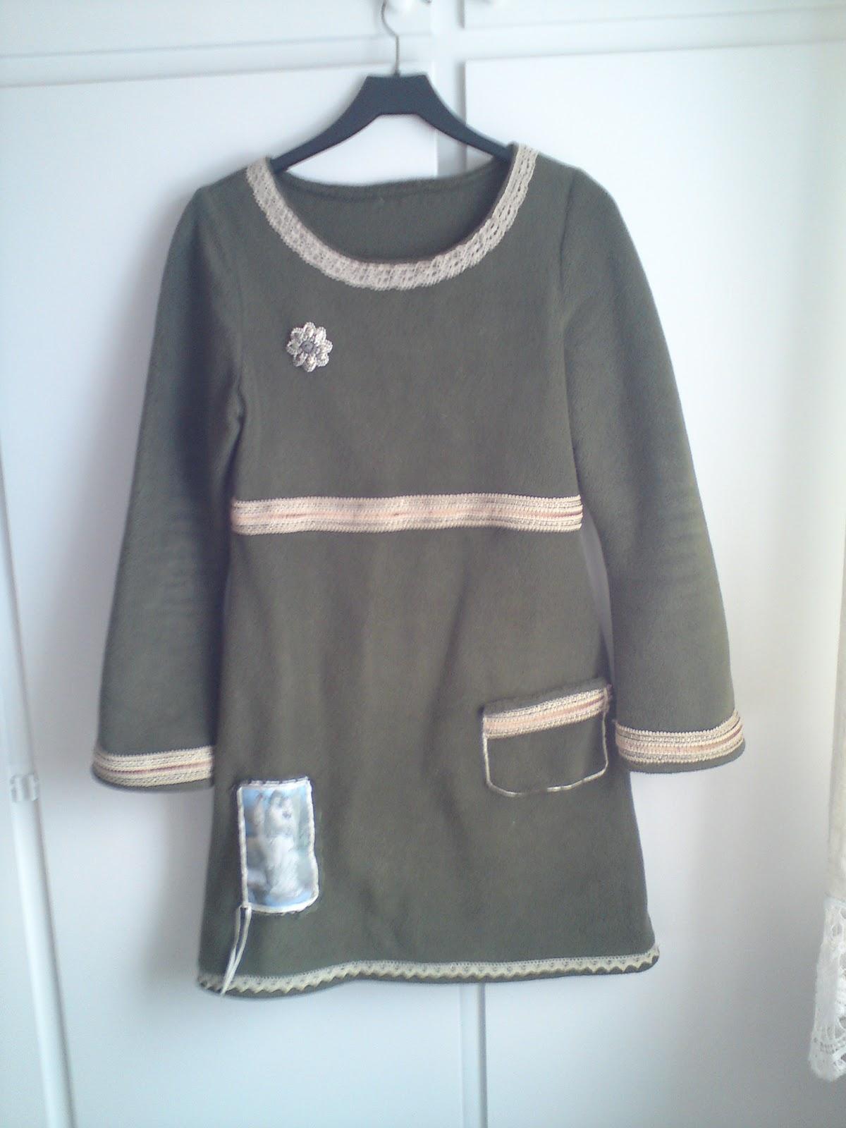 2578ea2a011c Grønn kjole